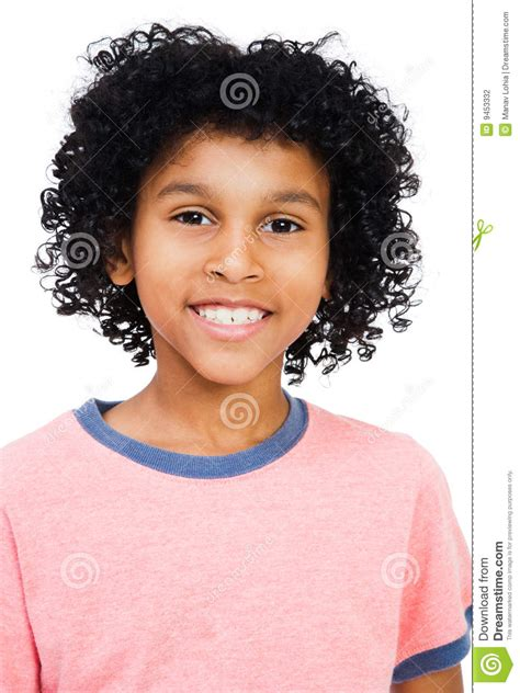 Mixed Race Boy Smiling Stock Photography   Image: 9453332