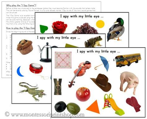 printable montessori materials i spy pages free printable montessori learning materials