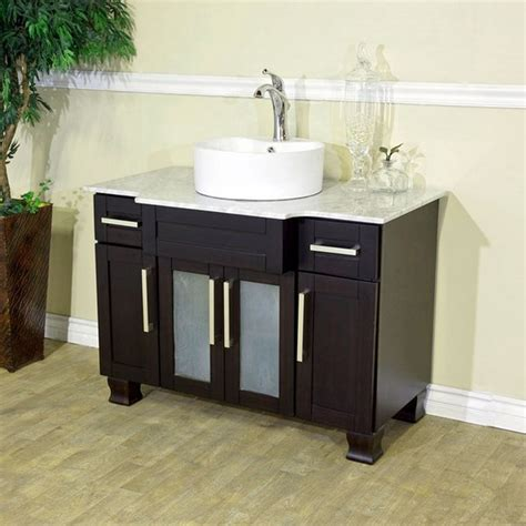 small vanities with sinks for small bathrooms small bathroom vanities with vessel sinks as an