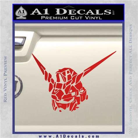 Sticker Stiker Cutting Gundam Unicorn unicorn gundam rx0 decal sticker 187 a1 decals