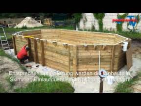 holzpool proswell by procopi youtube