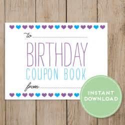 printable editable love coupons printable birthday coupon book editable pdf diy birthday