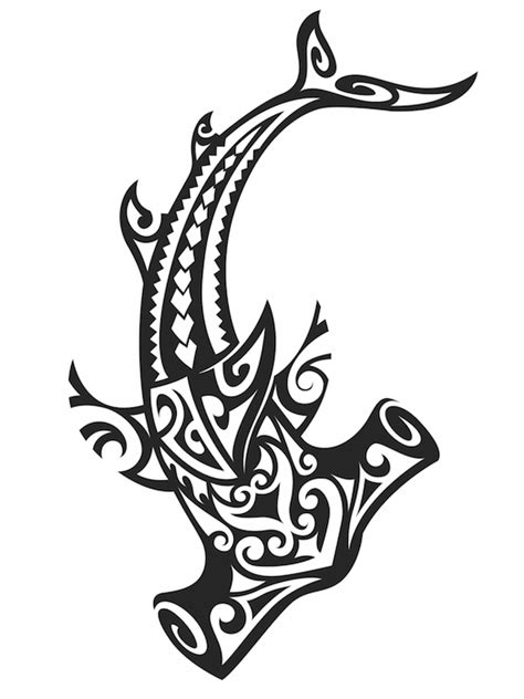 tribal hammerhead tattoo hawaiian meaning tattoos with meaning