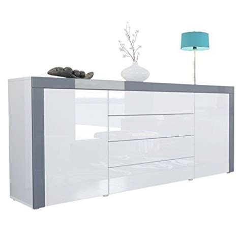 white high gloss buffet sideboard best cheap white gloss sideboard for sale hi res