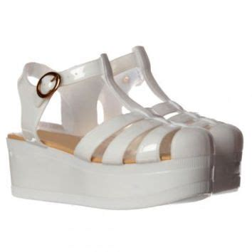 Sendal Wedges Jelly Transparan Gliters 210 onlineshoe retro jelly gladiator sandals from onlineshoe ltd