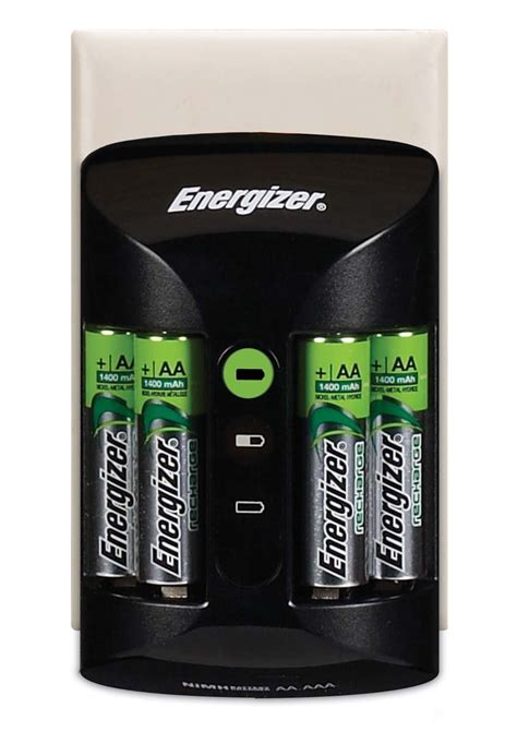 Baterai Charger Energizer energizer pro charger inc 4x 2000mah aa rechargeable batteries