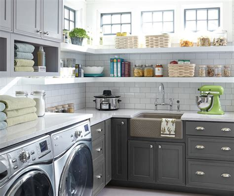 Grey Laundry Room Cabinets Decora Cabinetry Where To Buy Laundry Room Cabinets