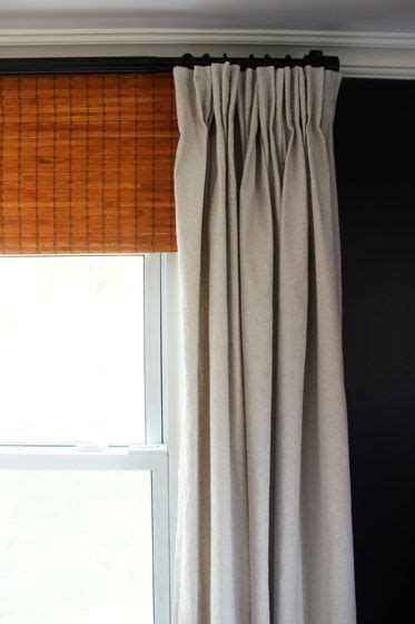 pinch pleat drapes instructions best 25 pinch pleat curtains ideas on pinterest