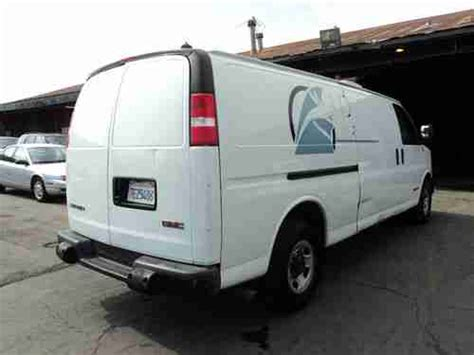 sell used 2003 gmc savana 3500 base extended cargo van 3 door 6 0l no reserve in orange sell used 2003 gmc savana 3500 base extended cargo van 3 door 6 0l no reserve in orange