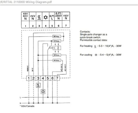 thermostat wiring diagram air conditioning diagram wiring