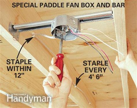 ceiling fan light box electrical box celling fan rated doityourself com