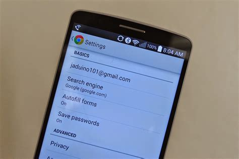 how to set up autofill on android how to use autofill forms in chrome android central