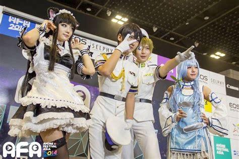anime festival asia 2014 singapore v 237 deo os melhores cosplays do anime festival asia 2014
