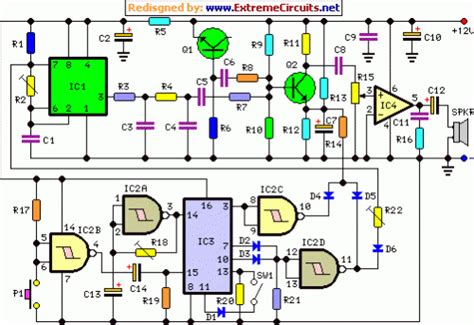 cuckoo sound generator circuit schematic eeweb community