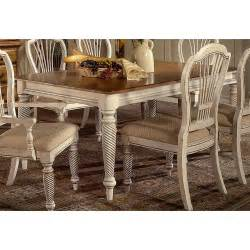 Antique White Kitchen Tables Hillsdale Wilshire Rectangular Dining Table Antique White Dining Tables At Hayneedle
