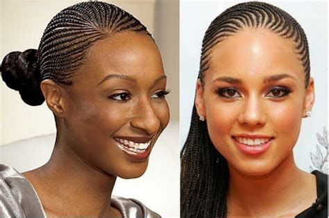 cornrow extensions with human hair small cornrows going back natural hairstyles haircare