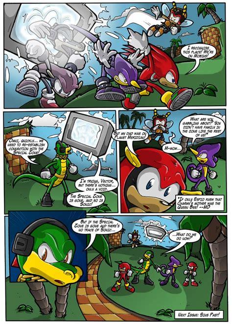 stc  sonic  comic