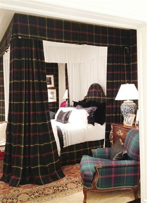 ralph lauren bedroom ralph lauren plaid bedroom style dashing decor pinterest