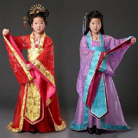 Pakaian Anak Putri 567 anak anak gadis kostum kostum kuno tradisional cina putri pakaian kerajaan peri gadis wanita