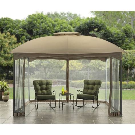 Personal Shade Canopy by Outdoor Gazebo Canopy 10x12 Patio Tent Garden Decor Cover