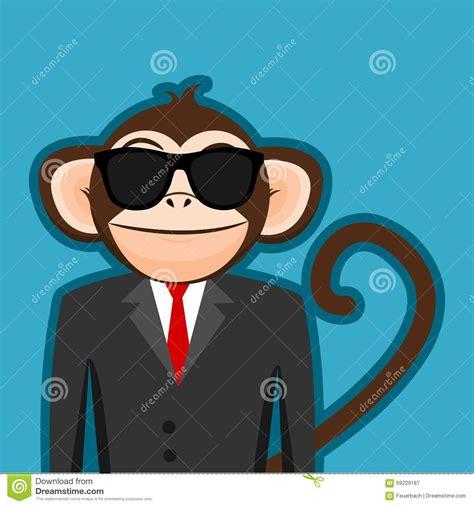 imagenes be cool macaco no terno do homem de neg 243 cio com desenhos animados