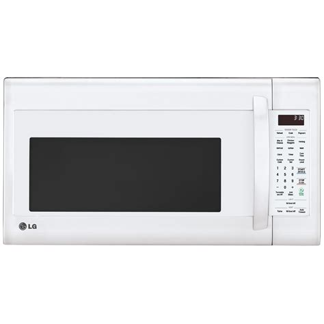 Microwave Oven Lg Ms2042d lg lmv2031sw 2 0 cu ft the range microwave oven