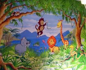 Childrens murals london childrens murals london mural artist nursery