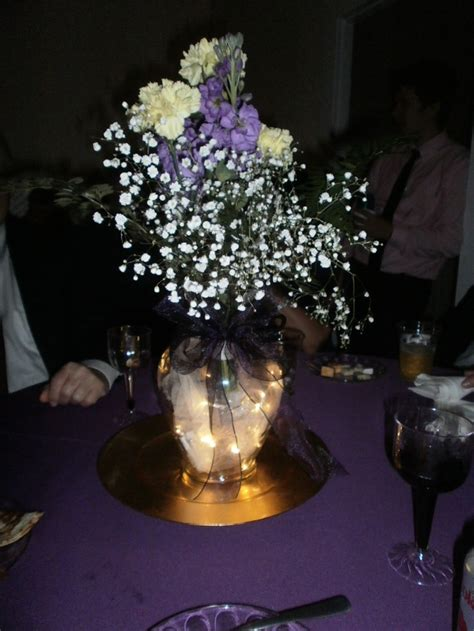 Quinceanera Centerpiece Clear Vase Wrapped 313 Best Images About Table Decorating On