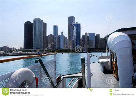 boat cruises chicago illinois architectural cruise chicago stock image image of