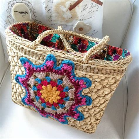 upcycling bags upcycled vintage bags and crochet buttons crafternoon treats