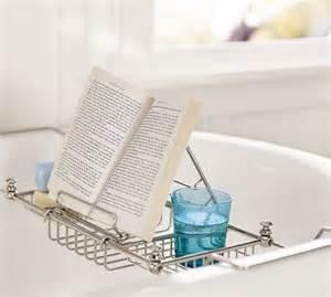 mercer bathtub caddy modern bath products by pottery