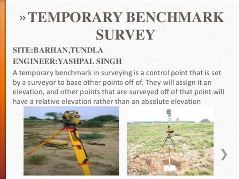 temporary bench mark best ppt on trainning on contruction at indian railway dfcc