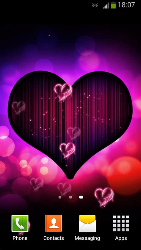 Top Ten Wallpapers I Love You Live Wallpaper Android Apps On Google Play