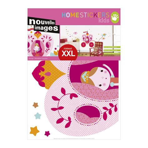 nouvelles images wall stickers nouvelles images multicolor princesses wall decals