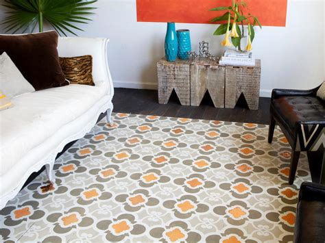 rug painting ideas how to stencil a faux rug on hardwood floors how tos diy