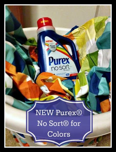 best laundry detergent for colors new purex 174 no sort 174 for colors detergent giveaway