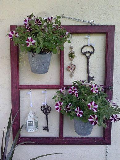 Altes Fenster Dekorieren by Altes Fenster Window Garten Alte Fenster