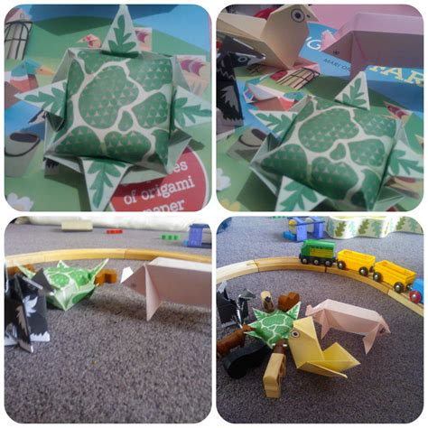 Origami Farm Animals - origami farm book review mummy s starsmummy s