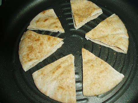 Wedges Pita Motif 2 meatless mediterranean pan grilled pita wedges