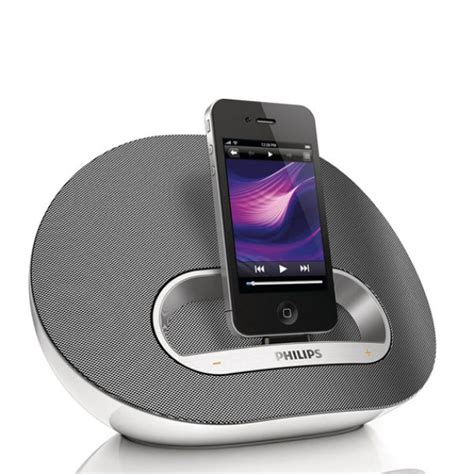 Philips Nano philips ds3120 05 speaker for ipod iphone with rechargeable battery electronics thehut