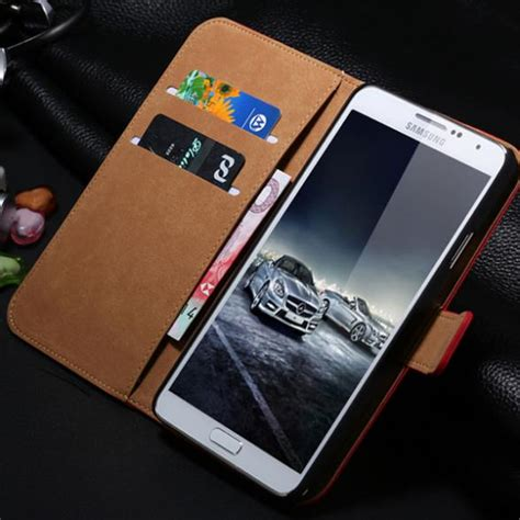 New Flip Cover Wallet Samsung Note 2 3 4 5 S7 Edge S7 Flat S8 aliexpress buy brown luxury retro genuine leather flip for samsung galaxy note 3