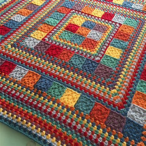 pattern crochet blanket random rainbow blanket handmade in marbella crochet