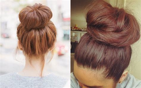 Donut Hairstyles by Easy Donut Bun Hairstyles To Create Neat Image