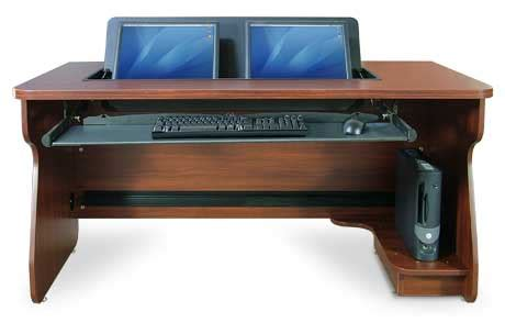computer desk for dual monitors smartdesks computer desks classroom computer desks