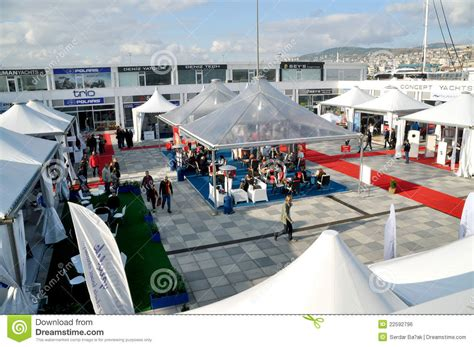 boat show istanbul istanbul boat show editorial photo image 22592796