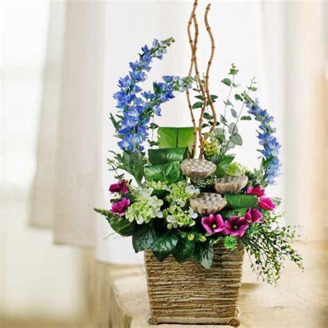 Artificial Flower Arrangements by Artificial Flower Arrangements For A Table Home