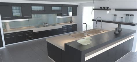 modele cuisine design cuisine design cuisine contemporaine blanche cuisines