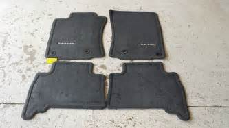 Carpet Floor Mats For Toyota 4runner New Oem Toyota 4runner Floor Mats Ebay