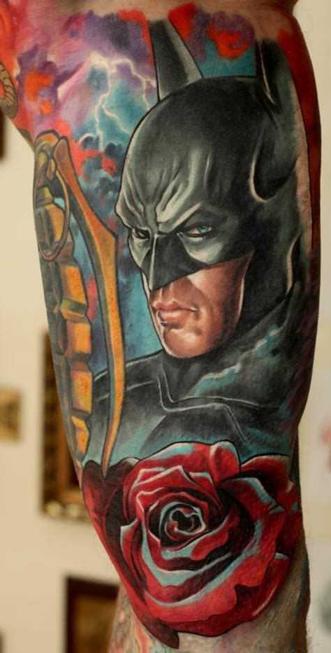 batman rose tattoo 203 best images about rose tattoos on pinterest picture