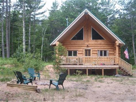 Log Cabins In Michigan For Rent by Peninsula Vacation Rentals Peninsula Cabin
